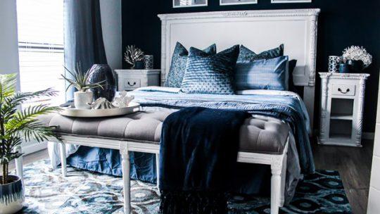Ideeën voor het upgraden van een slaapkamer met een beperkt budget